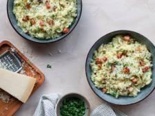 Wat Eten We Vandaag: Risotto Carbonara