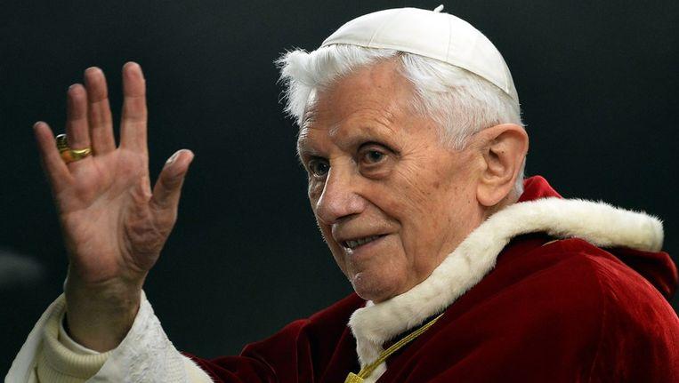 Paus Benedictus XVI Beeld AFP