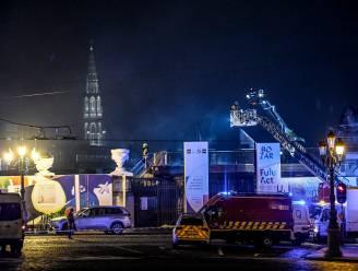 Brand in Bozar bijna onder controle, dinsdag meet museum schade op