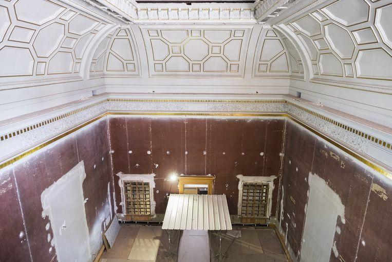 Ook het oude museum wordt tot in detail opgefrist.