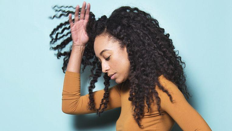 Corinne Bailey Rae: 'Je stem hoeft niet klassiek mooi te zijn, het mag ook onorthodox. ' Beeld Els Zweerink