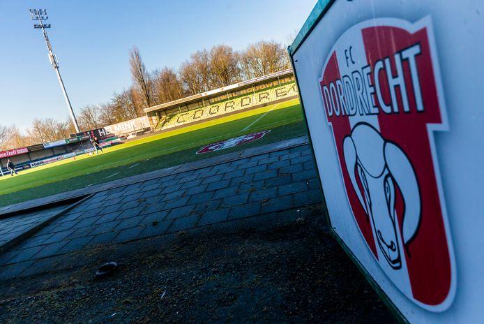 Het stadion van FC Dordrecht.