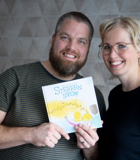 Robert uit Nijverdal schreef boek over verlies kind: 'Maar hoe wordt hij dan een sterretje?'