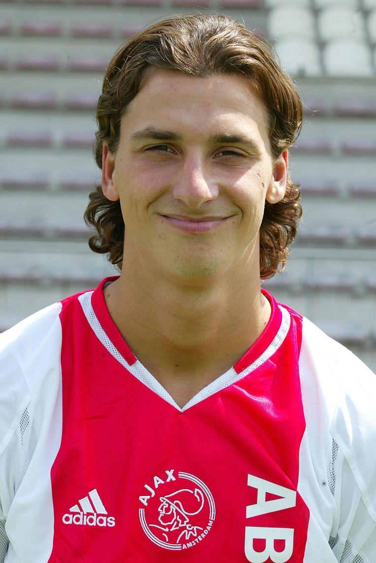 Zlatan Ibrahimovic in zijn tijd bij Ajax Beeld ANP