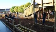 Oudercomité schenkt apenparcours aan leerlingen