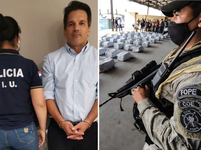 Cristian Turrini, voormalig directeur van de openbare televisie in Paraguay, is gearresteerd. Zijn bedrijf Impulso deed ook in het verleden al zendingen naar België.