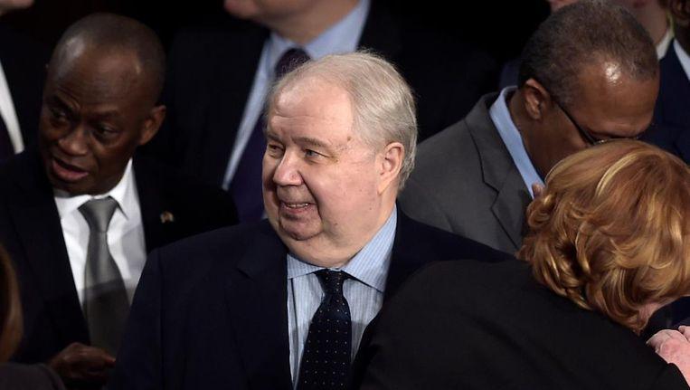 De Russische ambassadeur in Amerika Sergej Kisljak. Beeld null