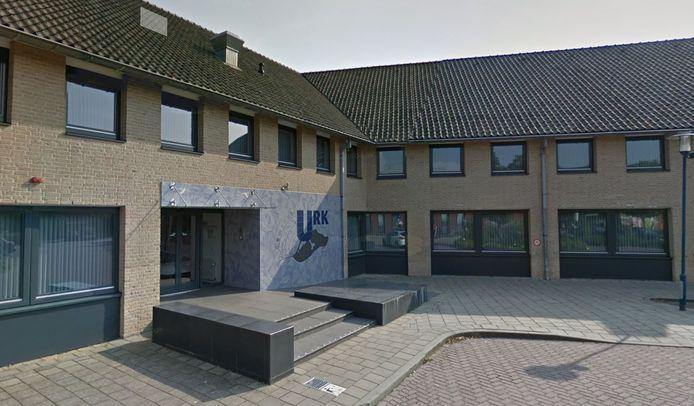 Het gemeentehuis op Urk.