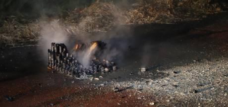 Vuurwerkresten veroorzaken brandje in Boxtel