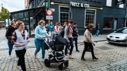 Eerste 'mama-wandeling' langs Hasseltse hotspots voor jonge gezinnen