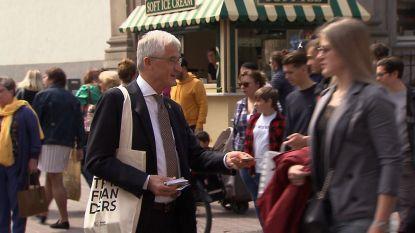 Campagne Geert Bourgeois loopt wat stroef