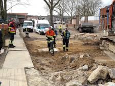 Opnieuw gasleiding stukgetrokken aan Spoorlaan in Groesbeek