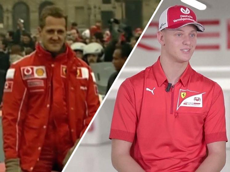 Mick Schumacher: 'Vergelijking met mijn vader is een eer'