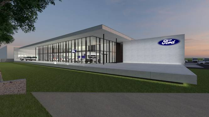Ford-verdeler Marc Vansteenland investeert in nieuwe garage in Veurne