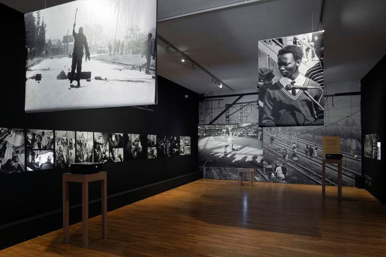 De tentoonstelling van Santu Mofokeng in Foam, in Amsterdam.  Beeld Christiaan van der Kooy