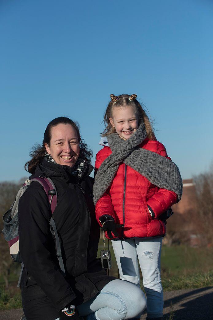 Patricia en haar dochter Iris van Buuren.