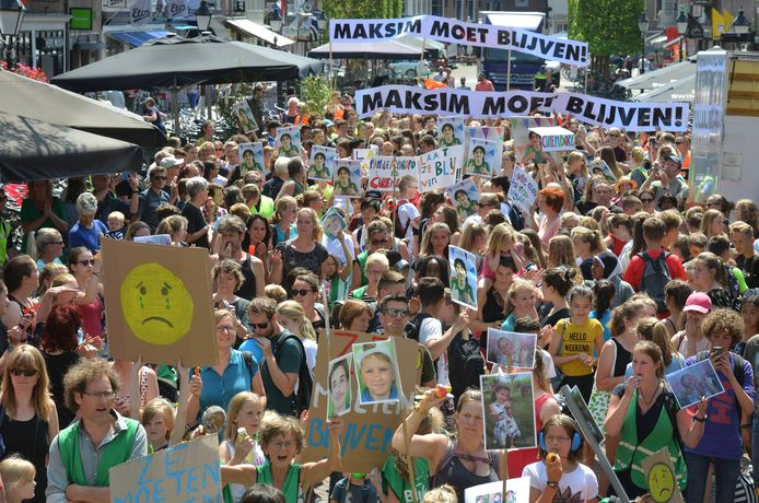 Culemborg protesteerde deze week tegen de uitzetting van het gezin.