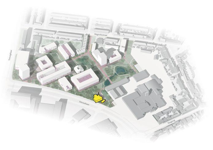 Het voormalige bedrijfsterrein van Nibb-it aan de Ettensebaan in Breda krijgt nieuwbouw.