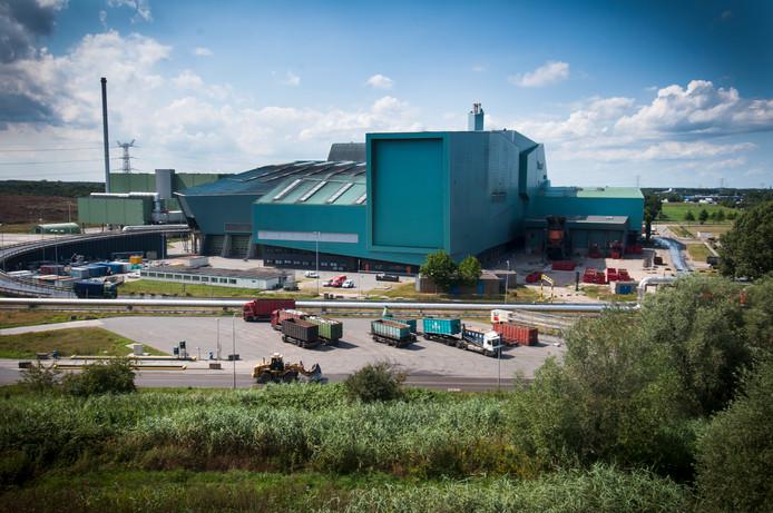 De afvalenergiecentrale van Twence.
