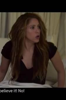 La colère de Shakira lors de la débâcle du Barça à Liverpool