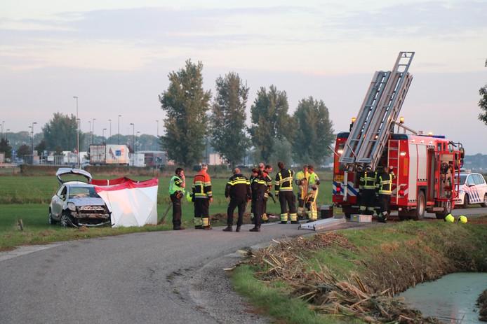 Dodelijk ongeluk in Hedel.
