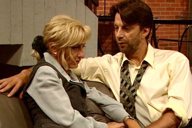 Karel Deruwe vertolkte de rol van pater familias Guido - hier met zijn vrouw Marie-Rose (Martine Jonckheere) - van 1991 tot 1999.