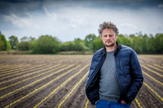 Sander Pereboom van LTO Noord.