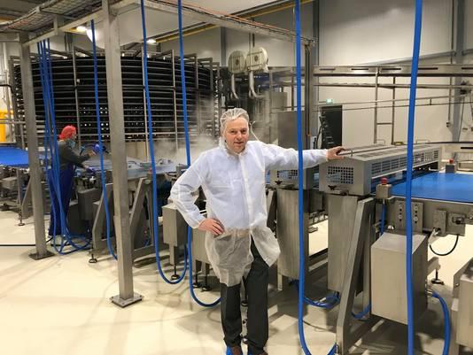 Cor Brookhuis, plantmanager van Europastry Oldenzaal