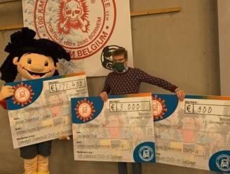 Dodentocht schenkt 175 300 euro van '100Km Covid Challenge' aan onderzoek naar COVID-19