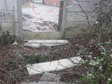 Terreineigenaar aangeslagen door ongeval meisje (13) met betonnen schutting