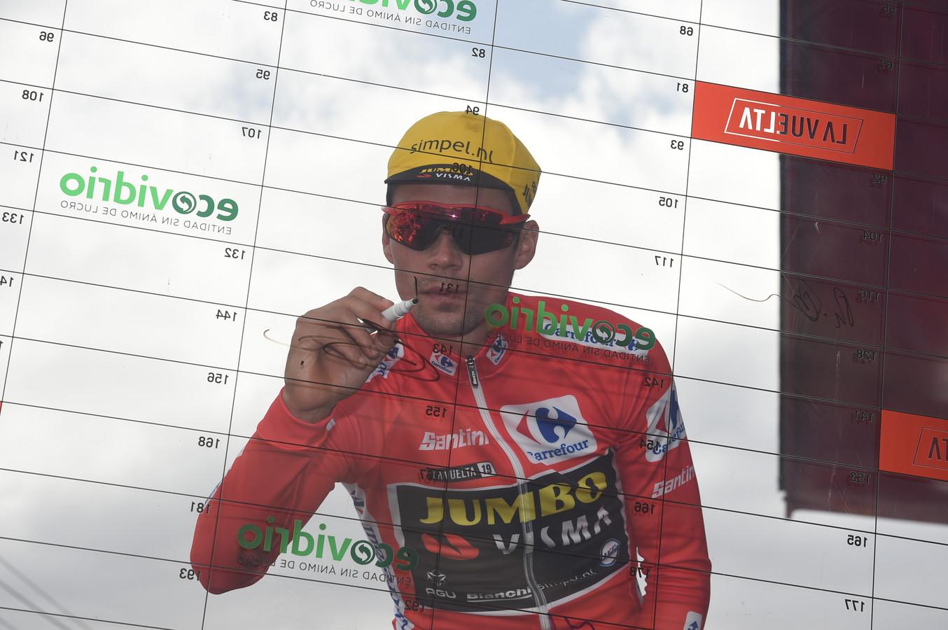 13-09-2019 Vuelta A Espana; Tappa 19 Avila - Toledo; 2019, Jumbo - Visma; Roglic, Primoz; Avila;