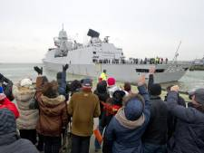 Fregat De Ruyter terug uit Somalië