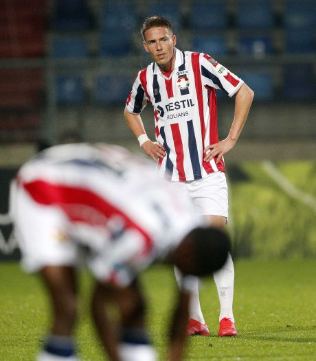 Eerste basisplaats Paul Gladon bij Willem II
