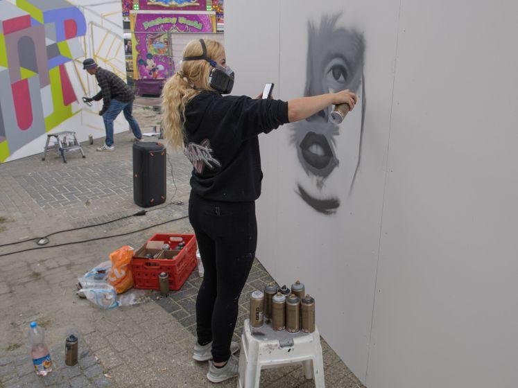 Hengelo krijgt kleur dankzij  street art