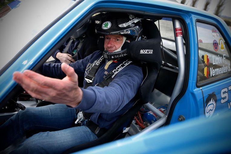Rallypiloot Freddy Loix.