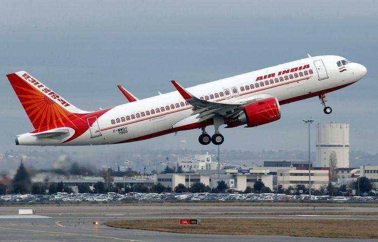 Een Airbus A-320 van Air India. (Foto ter illustratie)