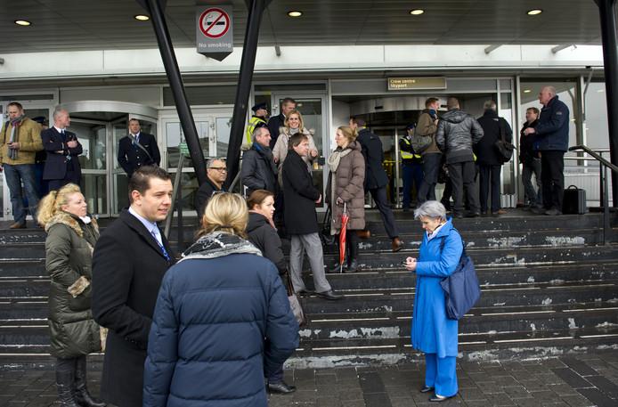 Bommelding op Schiphol: foto ter illustratie.