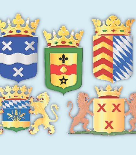 Een Beierse ruit of drie rode kruizen: wat wordt nieuw wapen Hoeksche Waard?