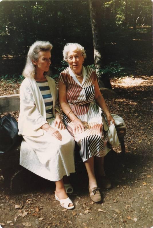 Ann ontmoette Otto en zijn tweede vrouw Fritzi meerdere keren.