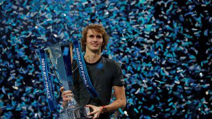 Indrukwekkende Zverev wint voor eerst ATP Finals, Djokovic grijpt naast zesde triomf