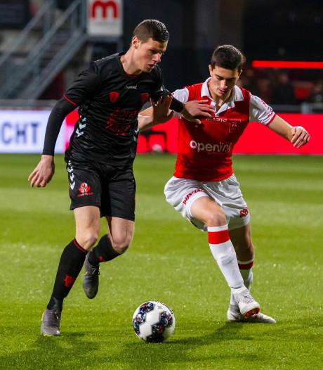 Uitblinkende Venema verliest met Jong FC Utrecht bij MVV