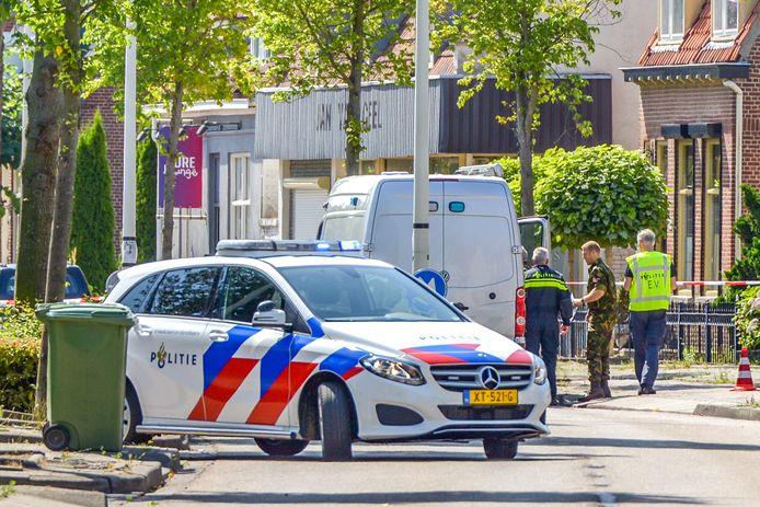 Antwerpsestraat in Bergen op Zoom afgesloten na aantreffen mogelijk explosief.