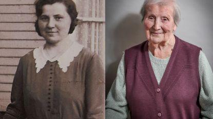"""In augustus zou ze 109 worden: terugblik op het leven van Ambrosine, oudste inwoonster van het Pajottenland: """"Veel tegenslag gekend, maar moeder gaf nooit op"""""""