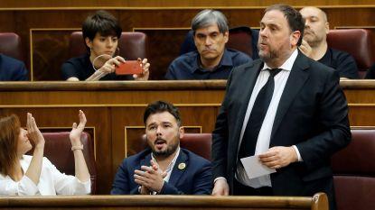 Spaanse staat roept nu zelf op veroordeelde Catalaanse vicepremier tijdelijk vrij te laten om Europees parlementslid te kunnen worden