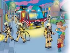 Brandweer Twente maakt prentenboek voor kleuters: 'Oei, de taart'