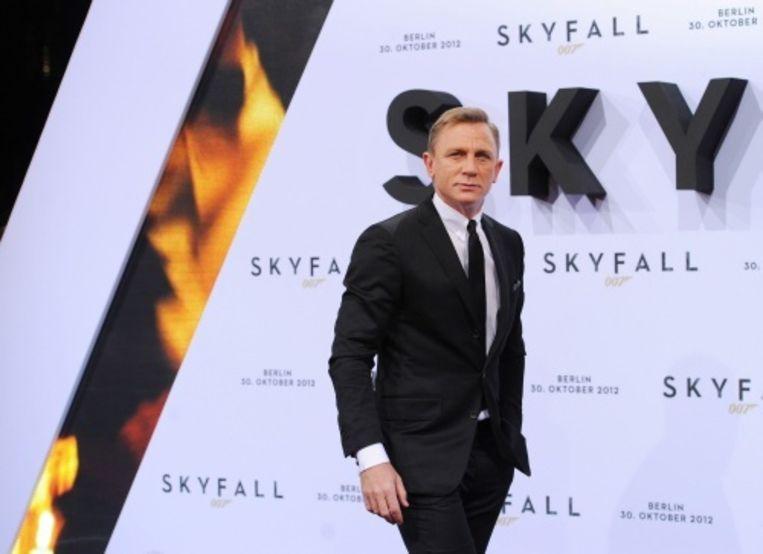 null Beeld Daniel Craig (James Bond). EPA