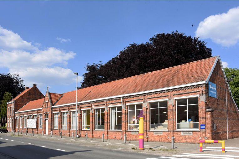 De oude gemeenteschool in de Schoolstraat.