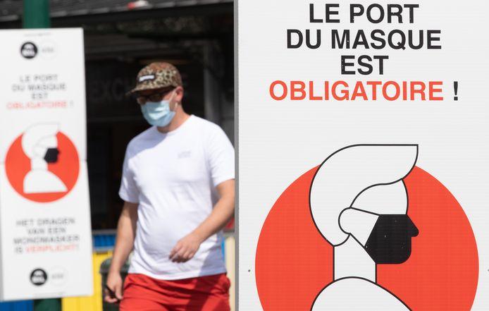 Dès le 1er octobre, le port du masque ne sera plus obligatoire partout à Bruxelles, entre autres.