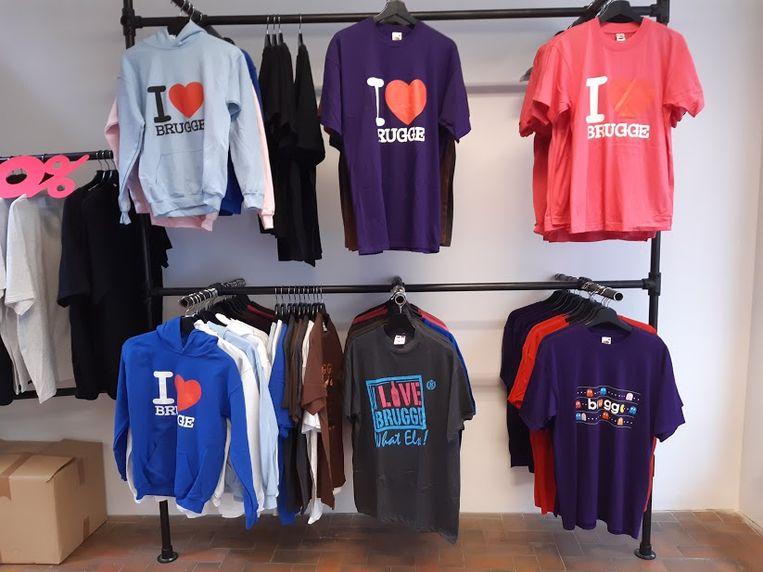 I Love Brugge... T-shirts voor waaghalzen.
