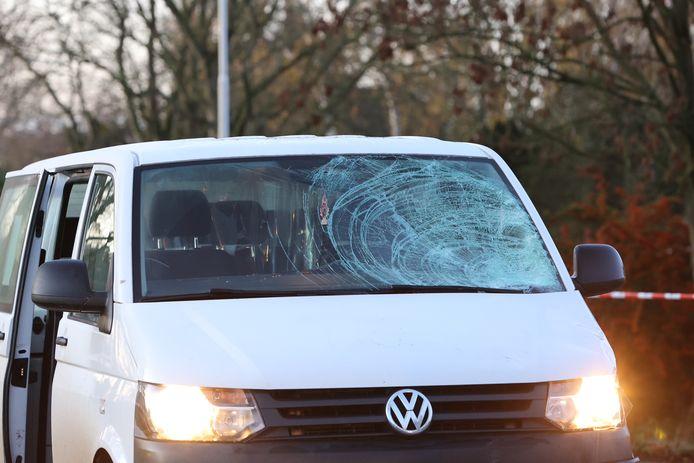 Ongeval met fietser en auto Kerkdriel.